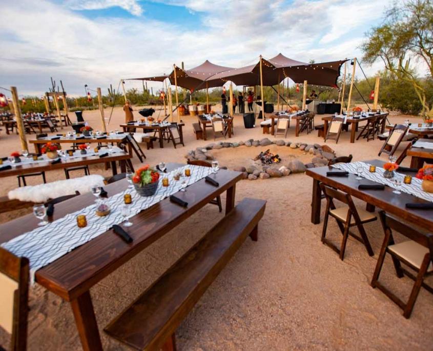 Modern Desert Corporate Event