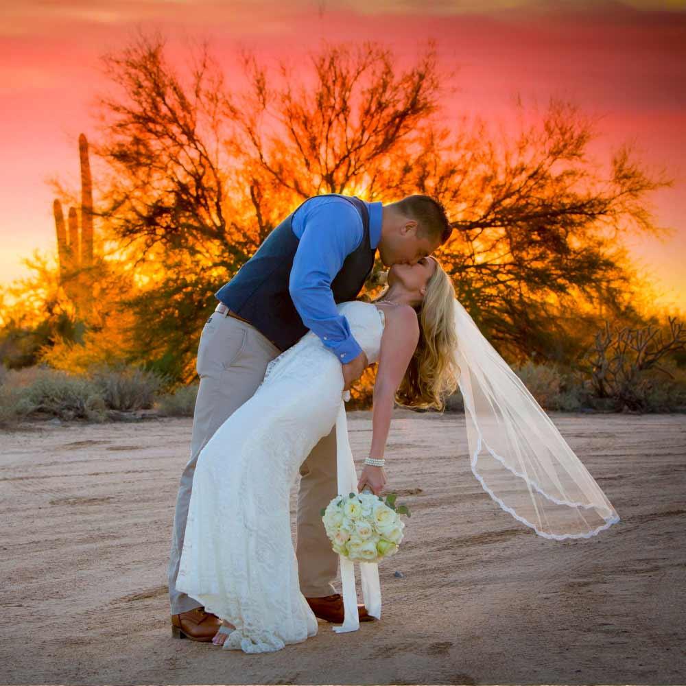 Desert Foothills Wedding
